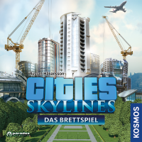 Cities: Skylines, KOSMOS, 2019 — front cover, German edition