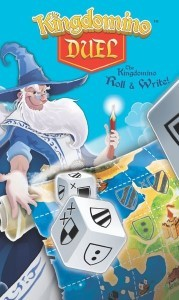 Kingdomino Duel, Blue Orange Games, 2019 — front cover (image provided by the publisher)