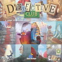 Detective Club, Blue Orange Games, 2019 — front cover (image provided by the publisher)