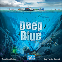 Deep Blue, Days of Wonder, 2019 — front cover (image provided by the publisher)