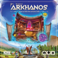 The Towers of Arkhanos, IDW Games/Creative Games Studio, 2019 — front cover (image provided by the publisher)