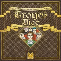 Troyes Dice, Pearl Games, 2020 — front cover (image provided by the publisher)