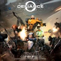 Infinity Defiance, Corvus Belli, 2020 — front cover (image provided by the publisher)