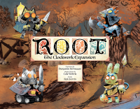 Root: The Clockwork Expansion, Leder Games, 2019 — front cover (image provided by the publisher)