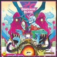 Dinosaur Island, Feuerland Spiele, 2019 — front cover (image provided by the publisher)