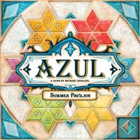 Azul: Summer Pavilion, Next Move Games, 2019 — front cover (image provided by the publisher)