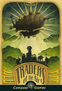 Traders of the Air, Compass Games, 2020 — front cover (image provided by the publisher)