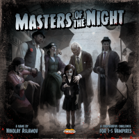 Masters of the Night, Ares Games, 2020 — front cover (image provided by the publisher)