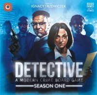 Detective: Season One, Portal Games, 2020 — front cover (image provided by the publisher)