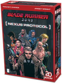 Blade Runner 2049: Nexus Protocol, WizKids, 2020 (image provided by the publisher)