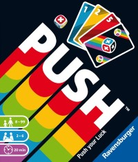 PUSH, Ravensburger, 2020 — front cover of the German edition (image provided by the publisher)