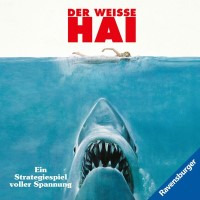 Der weiße Hai, Ravensburger, 2020 — front cover (image provided by the publisher)