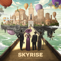 Skyrise, Roxley, 2020 — front cover (image provided by the publisher)