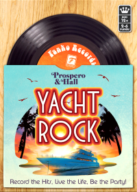 Yacht Rock, Funko Games, 2020 — front cover (image provided by the publisher)