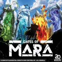 Gates of Mara, WizKids, 2020 — front cover (image provided by the publisher)