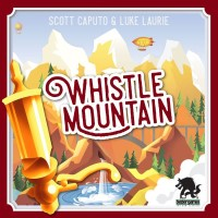 Whistle Mountain, Bézier Games, 2020 — front cover (image provided by the publisher)