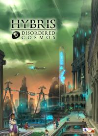 Hybris: Disordered Cosmos, Aurora Game Studio — front cover (image provided by the publisher)