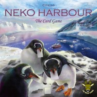 A Pleasant Journey to Neko: Neko Harbour Card Game, The Wood Games, 2020 — front cover (image provided by the publisher)