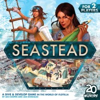 Seastead, WizKids, 2020 — front cover (image provided by the publisher)