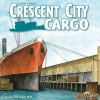 Crescent City Cargo, Spielworxx, 2020 — front cover (image provided by the publisher)