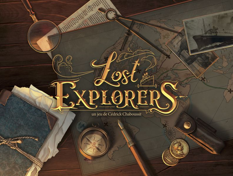Lost Explorers, Ludonaute, 2020 — front cover (image provided by the publisher)