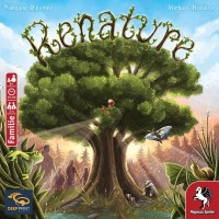 Renature, Deep Print Games, 2020 — front cover, German edition (image provided by the publisher)