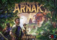 Lost Ruins of Arnak, Czech Games Edition, 2020 — front cover (image provided by the publisher)