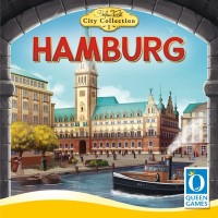 Hamburg, Queen Games, 2020 — front cover (image provided by the publisher)
