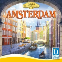 Amsterdam, Queen Games, 2020 — front cover (image provided by the publisher)