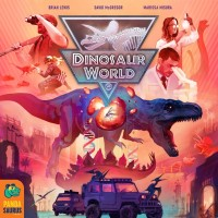 Dinosaur World, Pandasaurus Games, 2021 — front cover (image provided by the publisher)