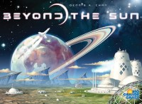 Beyond the Sun, Rio Grande Games, 2020 — front cover (image provided by the publisher)