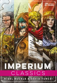 Imperium: Classics, Osprey Games, 2021 — front cover (image provided by the publisher