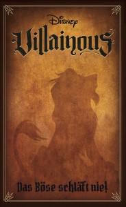 Disney Villainous: Das Böse schläft nie, Ravensburger, 2020 — front cover (image provided by the publisher)