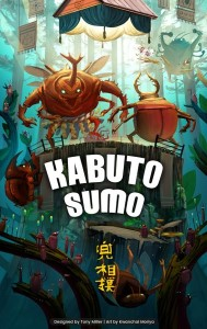 Kabuto Sumo, BoardGameTables.com, 2021 — promotional image (image provided by the publisher)