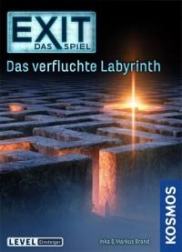 EXIT: Das Spiel – Das verfluchte Labyrinth, KOSMOS, 2021 — front cover