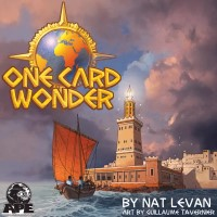 One Card Wonder, APE Games — Prototype front cover