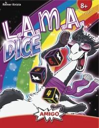 LAMA Dice, AMIGO, 2021 — front cover