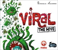 Viral: The Hive, Arcane Wonders / MEBO Games, 2021 — front cover (image provided by the publisher)