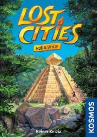 Lost Cities: Roll & Write, KOSMOS, 2021