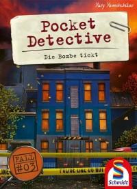 Pocket Detective: Die Bombe tickt, Schmidt Spiele, 2021 — front cover