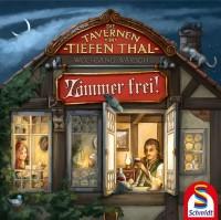 Die Tavernen im Tiefen Thal: Zimmer frei!, Schmidt Spiele, 2021 — cover in progress