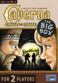 Caverna: Cave vs Cave – The Big Box, Lookout Games, 2021 — front cover (image provided by the publisher)