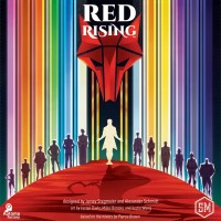 Red Rising, Stonemaier Games, 2021 — front cover (image provided by the publisher)