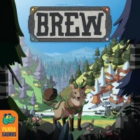 Brew, Pandasaurus Games, 2021 — front cover (image provided by the publisher)