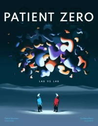 Save Patient Zero, Helvetiq, 2021 — front cover (image provided by the publisher)