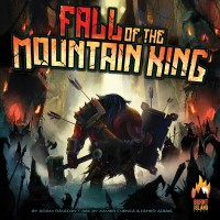 Fall of the Mountain King, Burnt Island Games, 2022 — front cover (image provided by the publisher)