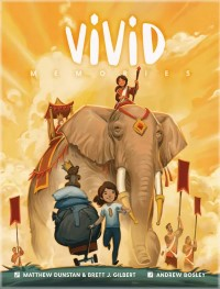 Vivid Memories, Floodgate Games, 2021 — front cover (image provided by the publisher)