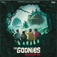 The Goonies: Never Say Die, Funko Games, 2021 — front cover (image provided by the publisher)
