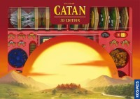 CATAN: 3D Edition, KOSMOS, 2021 — front cover (image provided by the publisher)