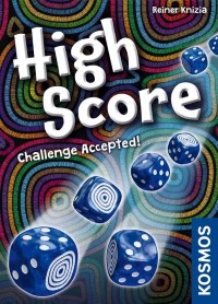 High Score, KOSMOS, 2021 — front cover (image provided by the publisher)